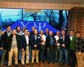 Last month, a few local Alumni gathered to congratulate the Alpha's new Executive Council for the next calendar year!